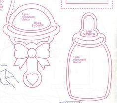 figuras de baby shower en foami para imprimir | hola chicas necesito ayuda para un baby shower