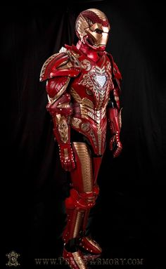 The Asgardian Iron Man suit is finally complete. And it's stunning.