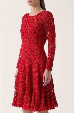 Fabulous Crochet a Little Black Crochet Dress Ideas. Georgeous Crochet a Little Black Crochet Dress Ideas. Crochet Skirts, Crochet Blouse, Crochet Clothes, Crochet Lace, Knit Dress, Dress Skirt, Vestidos Fashion, Mode Crochet, Crochet Woman