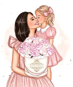 Cartoon Girl Images, Girl Cartoon, Birthday Cake Decorating, Girls World, Mother And Child, Girls Image, Mothers Love, Girly Girl, Women Empowerment
