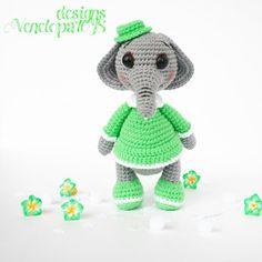 PATTERN Elephant amigurumi crochet crochet