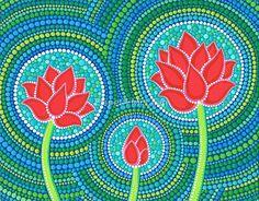 «Lotus Family of Three» de Elspeth McLean