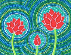 «Lotus Family of Three» de Elspeth McLean