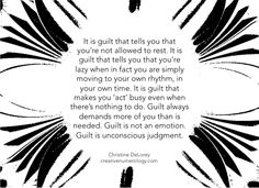 the deceptions of guilt...