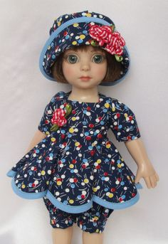 "PATSY'S SPRINGTIME DELIGHT OUTFIT! FOR 10"" ANN ESTELLE, ETC.MADE BY SSDESIGNS"