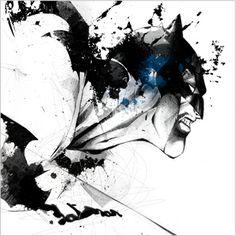 El Batman de Despau. Increíble. Cada vez que lo veo me gusta más.