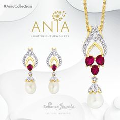 #AniaCollection Light Weight Jewellery.  Colourful stones dotted on shiniest metal that celebrate the spirit of freedom.  Reliance Jewels Be The Moment.  www.reliancejewels.com  #Reliance #RelianceJewels #Jewel #Jewellery #LightWeight #officewear #partywear #classy #trendy #workwear #dailywear