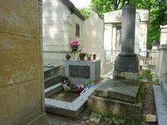 Jim Morrison (Doors) is buried in Père Lachaise Cemetery in Paris. RIP