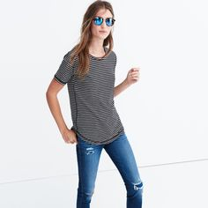 Make this Madewell Whisper tee your new casual go-to
