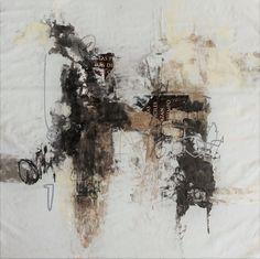 Arturo Pacheco Lugo   Viaje sin ningún asidero 11 acrylic mixed media on canvas 62 x 62 cm 2017
