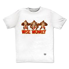 tee-shirt wise Monkey by Otaku Gamewear #DonkeyKong #pointSinge
