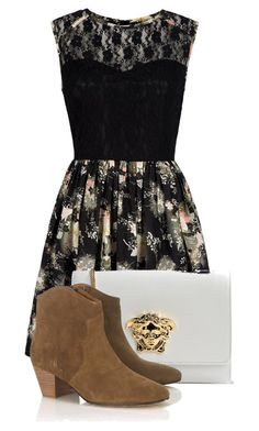"""""""Fashion"""" by andreastoessel ❤ liked on Polyvore featuring Mela Loves London, Versace and Isabel Marant"""