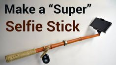 I am not that kind of person who makes selfies - yet.... There were times when a selfie stick would have been handy. Times when I wanted to take a photo of me and my girlfriend.  In this video I made a Bluetooth selfie stick from a bamboo. It's magnetic and can be also used to attach a camera to a lamppost or any other magnet friendly metal.