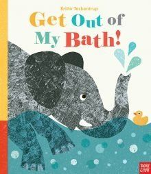 Get Out of My Bath! from Britta Teckentrup is a fun picture book which is really going to appeal to the youngest listeners.