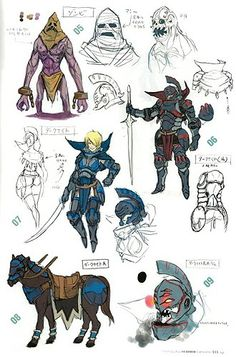 Fire Emblem Awakening concept art