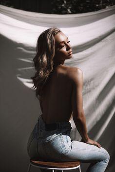 model, stool, white sheet backdrop, contrast, back, shine,outdoorshoot Backdrops, Contrast, Stool, Fashion Photography, My Style, Model, Beautiful, Scale Model
