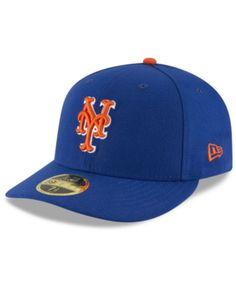 New Era New York Mets Low Profile Ac Performance 59FIFTY Cap - Blue 7 3  87fef8a4bfe8