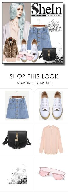 """""""// SHEIN // 4/XV"""" by nura-akane ❤ liked on Polyvore featuring WithChic"""