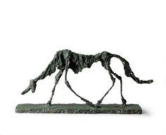 アルベルト・ジャコメッティ『犬』 1951年 ブロンズ マルグリット&エメ・マーグ財団美術館、サン=ポール・ド・ヴァンス Archives Fondation Maeght, Saint-Paul de Vence (France)