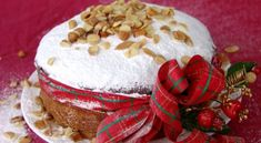 This is the cake that we make for the New Year. The tradition started about 1500 years ago, and if you wish to read it so that I don't take up more of your time here go to: The Tradition of the Vasilopita. We put a coin baked inside the vasilopita Greek Desserts, Greek Recipes, Desert Recipes, Christmas Breakfast, Christmas Sweets, Christmas Time, Greek Christmas, Christmas Cooking, Vasilopita Cake