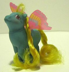 My Little Pony - G1 - 1987 - Summer Wing Ponies - Buzzer