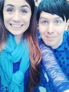 Dodie (doddleoddle) and Phil (amazingphil)<--- Did this actually occur? They actually met? This is so cool if they did