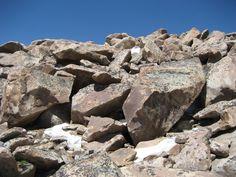 Boulders in Talus Mountain