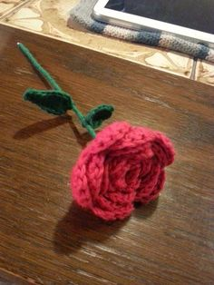 FRIRUMMET: Hæklet rose