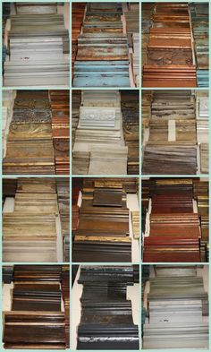 12 color groupings of finishes ~ Blog on Furn Finishes Class ~ Pictures for INSPIRATION ONLY