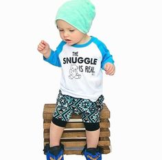 The Snuggle Is Real Raglan, Baby kids graphic tee, baby clothes t shirts, kids clothing shirts, kids clothes, baby clothing by SWEETEESforyou on Etsy https://www.etsy.com/listing/228323948/the-snuggle-is-real-raglan-baby-kids