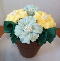 | Cupcake Ideas: What's better than flowers? CUPCAKE flowers!! | Cupcake ...