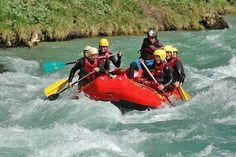 Rafting in der Salza, Wildalpen, Steiermark, Austria
