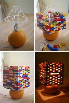 10. lego lampada