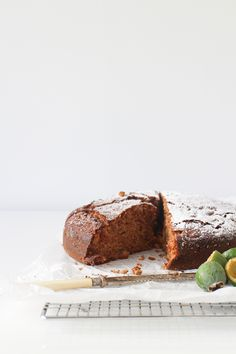 This delicious Feijoa and Walnut Cake is perfect to make during Autumn when this classic New Zealand fruit is in abundance Sweet Recipes, Cake Recipes, Dessert Recipes, Cupcakes, Cupcake Cakes, Biscuits, Walnut Cake, Sweets Cake, Eat Dessert First