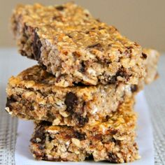 . soft and chewy protein granola bars .