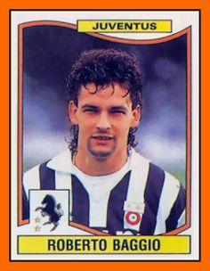 Roberto Baggio with Juventus, 1993.