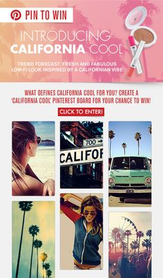 California Cool! #PinToWin #NapoleonPerdis #NPSet #California