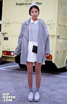 Korean (Seoul) Street Fashion   November 2014   11월 스트릿패션                                                                              ...