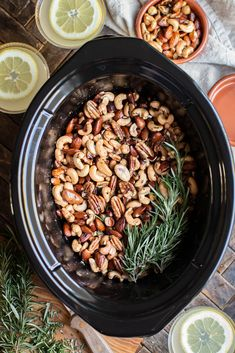 Slow Cooker Union Square Cafe Bar Nuts - The Magical Slow Cooker Nut Recipes, Slow Cooker Recipes, Great Recipes, Cooking Recipes, Slow Cooking, Crockpot Meals, Recipies, Snack Recipes, Best Appetizers