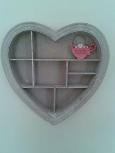 Rustic heart decoration