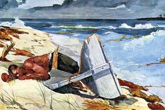 After the tornado by Winslow Homer - Art Print  #9785872632375 #Buyenlarge #FineArt #New