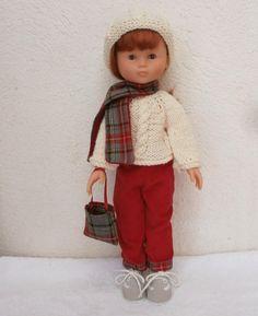 Habits Les Chéries - ensemble pantalon pour l'hiver : Jeux, jouets par mcl-poupees