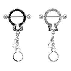 a5c00b220 Supreme Jewelry Steel Cubic Zirconia Hand Cuff Nipple Shield Cute  Piercings, Body Piercings, Steel