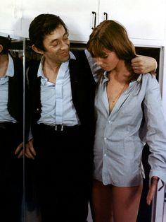 Serge Gainsbourg Jane Birkin in Slogan, 1969 Charlotte Gainsbourg, Serge Gainsbourg, Gainsbourg Birkin, Lou Doillon, Style Jane Birkin, Jane Birken, Kate Barry, Star Francaise, Non Plus Ultra