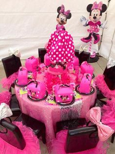 Good board:  http://pinterest.com/lovejesus115/birthday/ Minnie Mouse Party #minniemouse #party