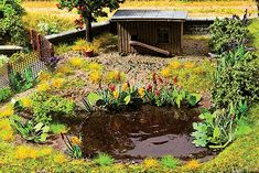 Walthers SceneMaster 1092 - Water Plants - Botanicals(TM) (949-1092) - Walthers Model Railroading
