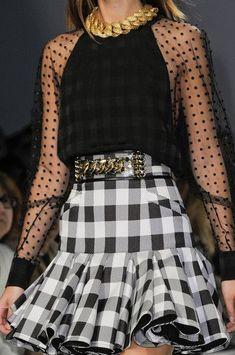 Sophisticated Style| Serafini Amelia| Balmain 2014