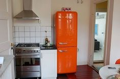 Orange Fridge Idea