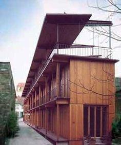 edificio de apartamentos hebelstrasse herzog & de meuron - Google Search