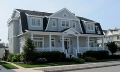 Grey-House-in-Stone-Harbor- more photos of homes in stone harbor when you click on